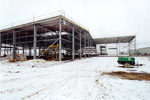 Construction of the Celcon Factory Building