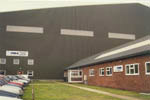 Factory building and Airport Hangar at Bournemouth International Airport. Complete Design and Construction by REIDsteel