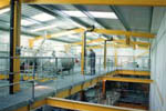 Platforms, walkways, handrails and process plant support