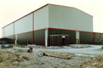 Factory Building during Construction